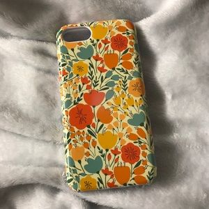 NWT Floral Phone Case Iphone 7/8
